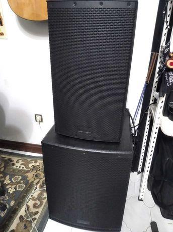 "PA Fame Audio Challenger Completo - 12"", 15"" e Sub 15"""