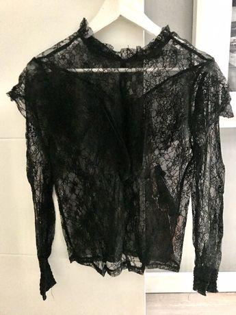 Mega paka czarne bluzki t-shirty 7 Promod Medicine Reserved Monnari
