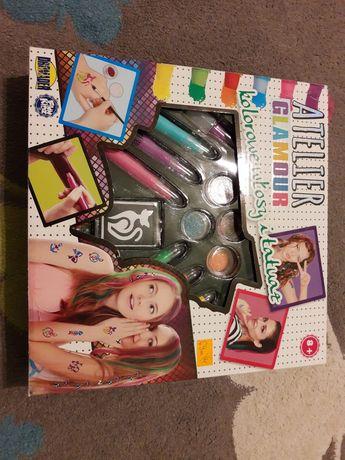 Zestaw do makijażu i dekoracji dla dzieci