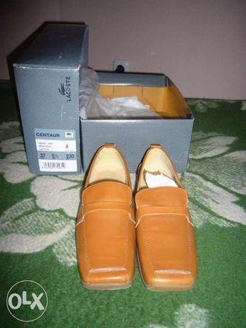 Лакоста   кожаные женские туфли