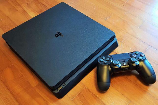 Sony playstation 4 slim  500 GB прошитая 7.02