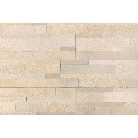 Panel SAMOPRZYLEPNY Mint White 60x15 Kamień dekoracyjny Łupek
