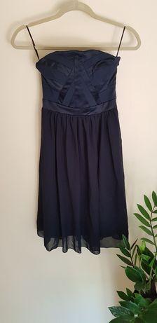 Sukienka granatowa - SELECTED FEMME