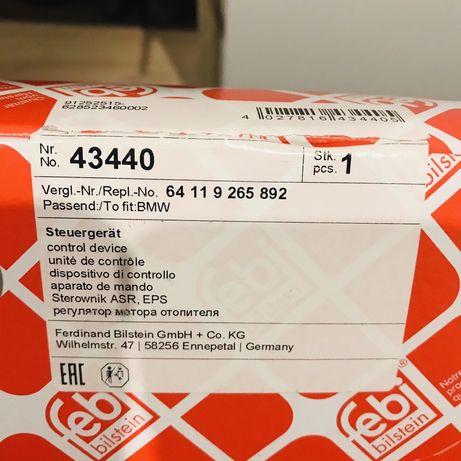 Rezystor BMW E90 91 sterownik dmuchawy wentylatora FEBI 43440 jeż