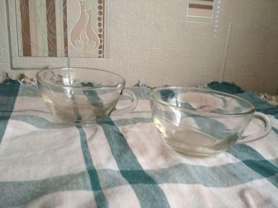 Стеклянная чашка пара Константиновка - изображение 1