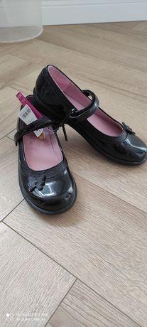 buty balerinki czarne rozm. 35 / Dunnes / komunia / wesele / szkoła
