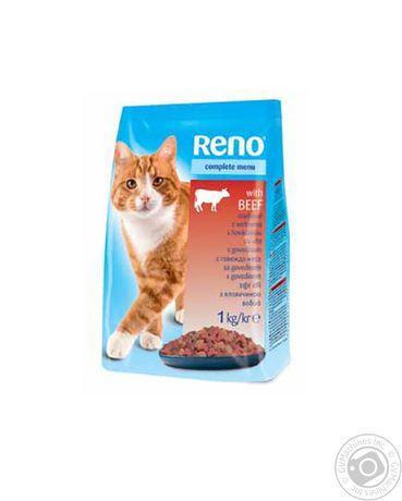 Корм для кошек Reno 10кг. Отличный корм за доступные деньги. Свежий