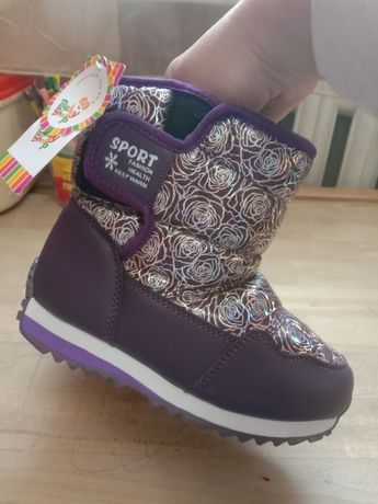 Ботинки зимние сапоги на девочку/мальчика