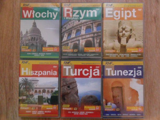 Podróże marzeń - seria filmowych przewodników turystycnych DVD