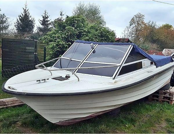 jacht łódź motorowa kabinowa,motorówka wędkarska turystyczna do remont