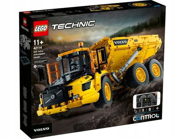 Lego Technic 42114 Wozidło Przegubowe Volvo 6X6 NOWY
