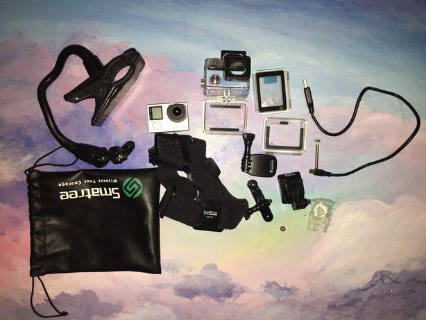 Kamera gopro hero4 silver + akcesoria