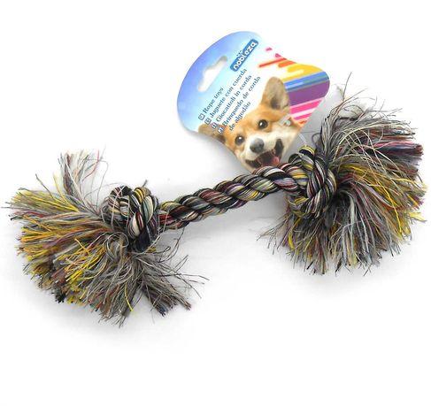 Zabawka dla psa sznur węzły supły szarpak gryzak 23 cm