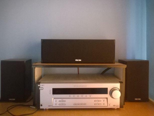 Amplituner Sony STR-DE495 + 3 kolumny