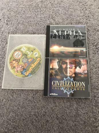Gry na PC, gry na komputer. Civilization, Alpha Centauri, Green Ranch.