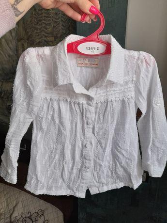 Блузка ZARA на 2-3года