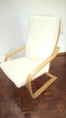 Cadeirão / Cadeira IKEA Poang Baloiço