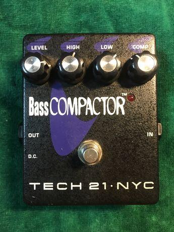Tech 21 NYC Bass Compactor EQ+Comp
