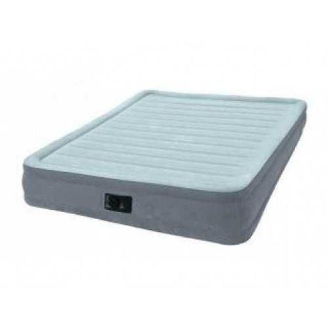 Надувная кровать с электронасосом