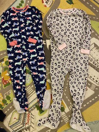 бу пижама слип Cartets 5  и 6 лет