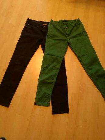 Spodnie zielone i czarne roz.32