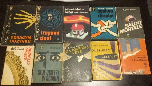 Krystyn Ziemski-10 książek