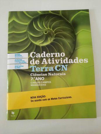 Terra CN - Ciências Naturais - 7º ano - Caderno de atividades