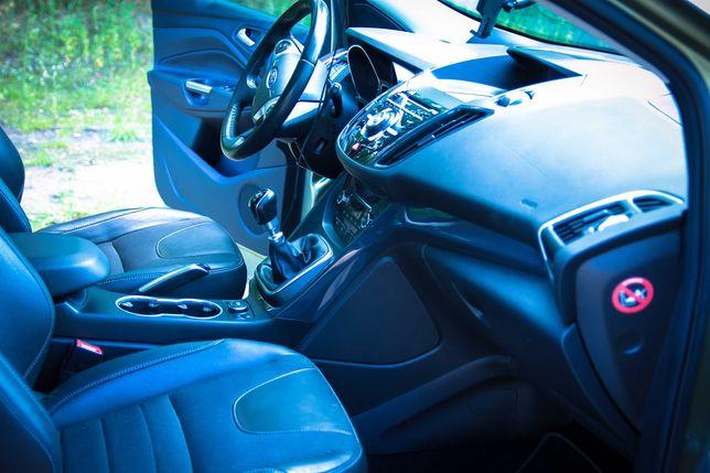 Ford KUGA II 2014, 140KM Titanium Navi, Parktr, Kamera, Serwisowany