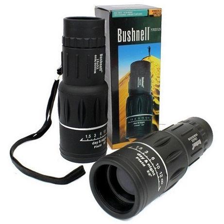 Качественный монокуляр BUSHNELL 16x52 влагозащищенный для охоты и рыба