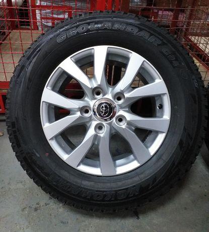 Колеса НОВІ диски R18 TOYOTA Land Cruiser LC200 +шини 285 60 18 DUNLOP