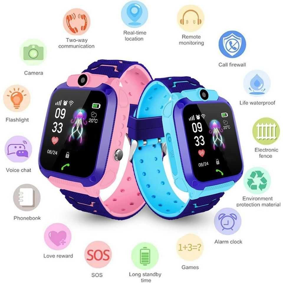 Relógio / Smartwatch Infantil c/ GPS localização / Camera