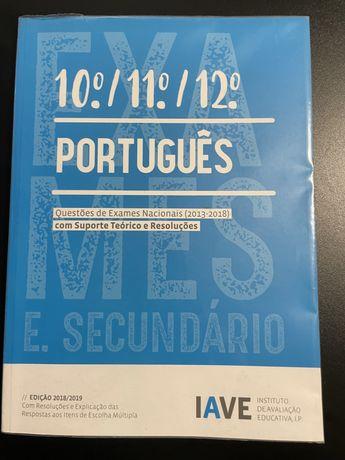 Livro do IAVE de Português (10°/11°/12°)