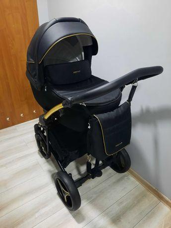 Wózek Bebetto Torino Si złoty 3w1