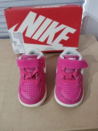 Buciki Nike różowe