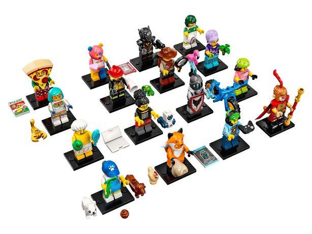 Lego minifiguras Serie 19 completa nas saquetas (16 saquetas)