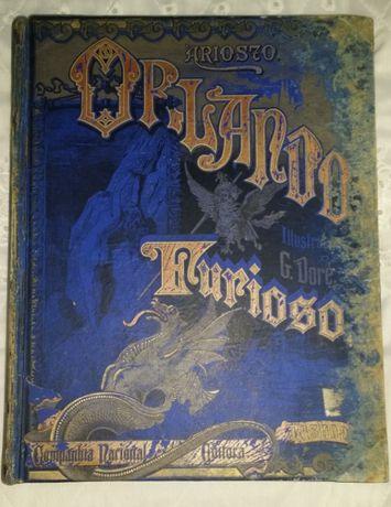 Livro Antigo Orlando Furioso 1895 Companhia Nacional Editora