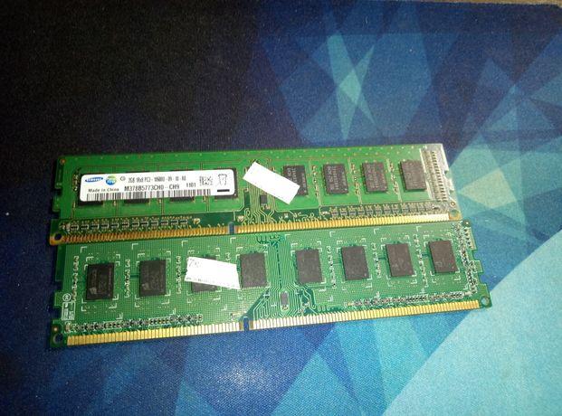 Оперативна пам'ть самсунг 4gb ddr3 кожна плашка по 2 gb,фірма самсунг