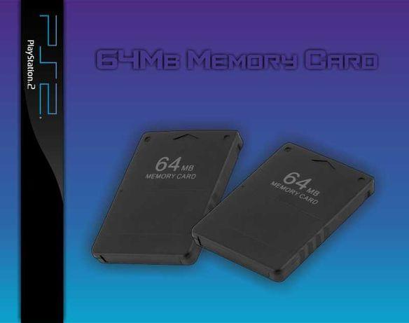 Playstation 2 (PS2) Memory Card 64Mb