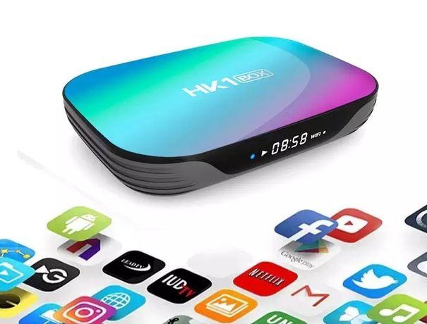 Przystawka Tv Box HK 1 X3  8K  4/32/64/128GB  Android 9 Netflix, Kodi