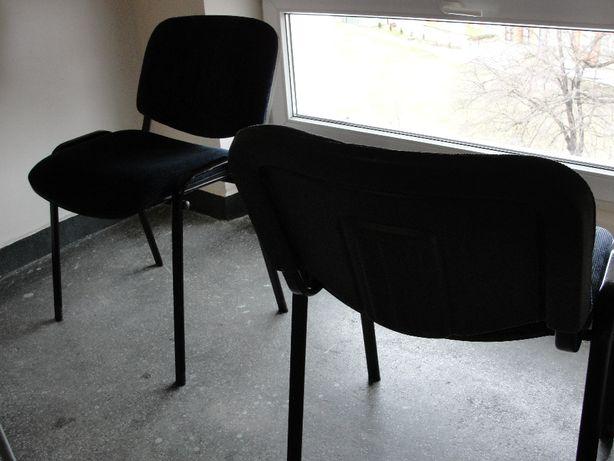 Krzesła Biurowe niebieskie