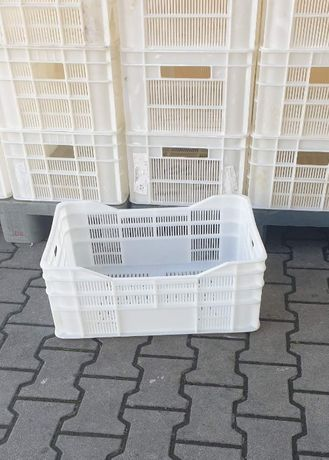 Plastikowe skrzynki koszyki pojemniki + transport