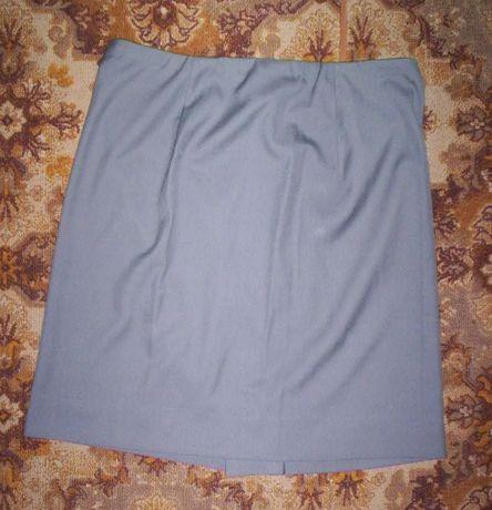 Светло-серая юбка