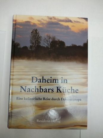 Книга по кулинарии всех народов Европы живущих вдоль Дуная на немецком