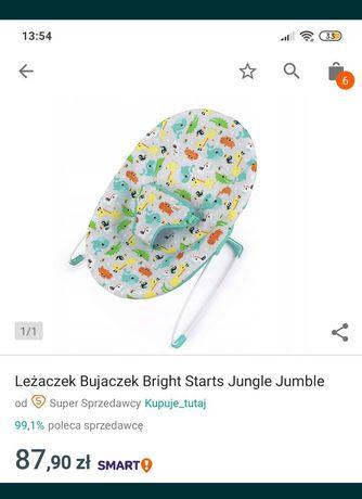 Leżaczek/bujaczek Bright Starts Jungle Jumble