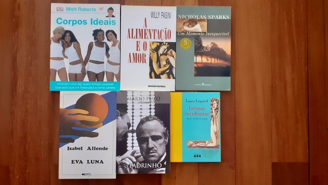 Livros a 4€ cada