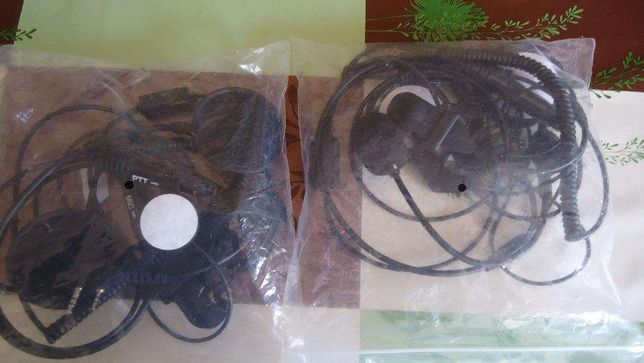 conjunto de auriculares maos livres para bombeiros ou motoclitas