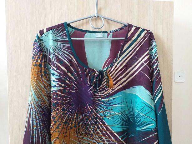 Bluzka damska kolorowa r 50-52