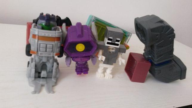 Набор игрушек 4- 7 лет(подзорная труба, фотоапарат, трансформер)