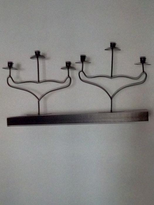 Vendo castiçais pretos Faro (Sé E São Pedro) - imagem 1