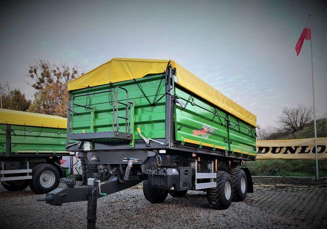 Przyczepa rolnicza 10 Ton Tandem fabrycznie nowa Caselli